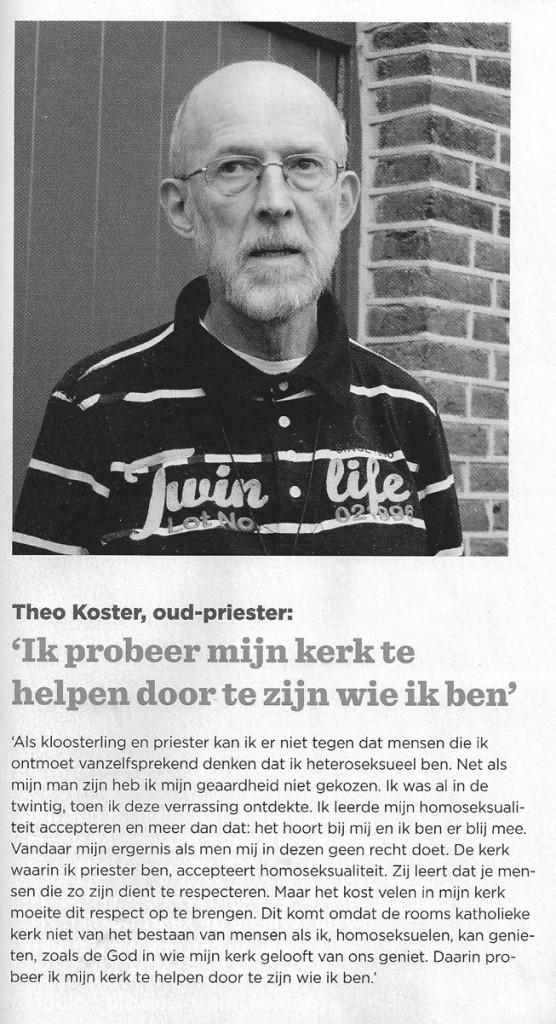 Nestor met Theo Koster