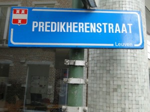 straatnaambord Leuven