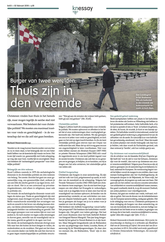Katholiek Nieuwsblad 2 februari 2018 pagina 18