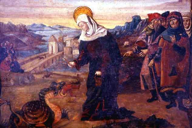 AndreAbellon o.p.-St Martha en de draak-1430