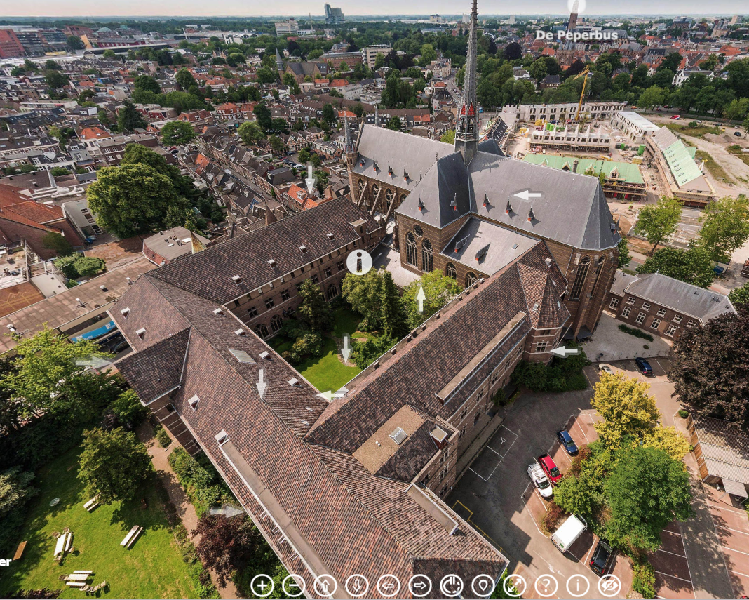 VR-rondleiding klooster Zwolle