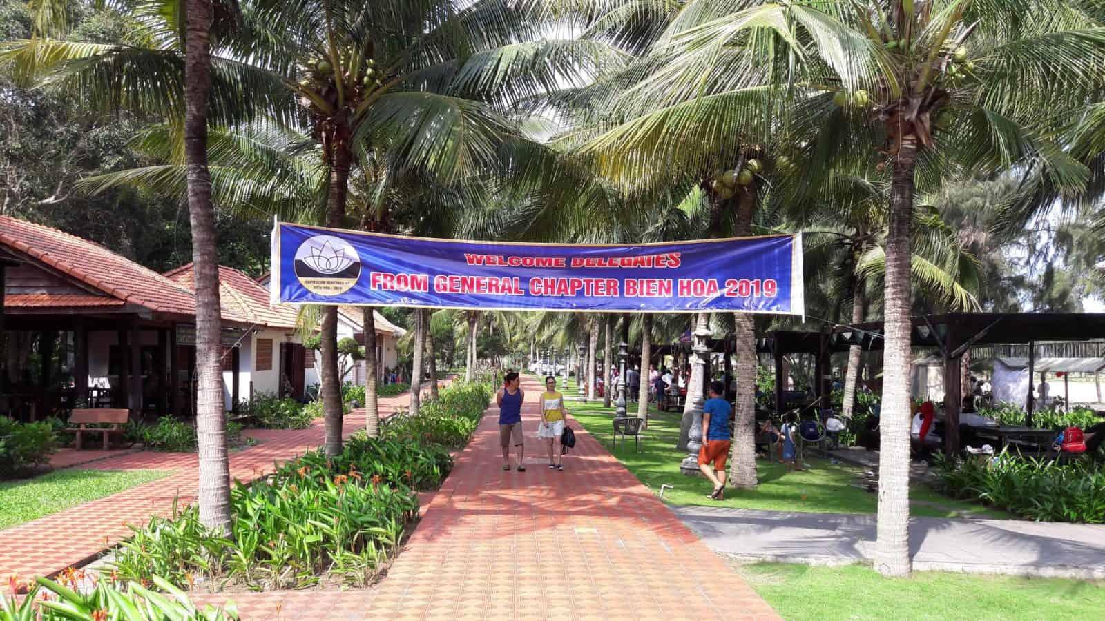 kapittel vietnam welkom spandoek