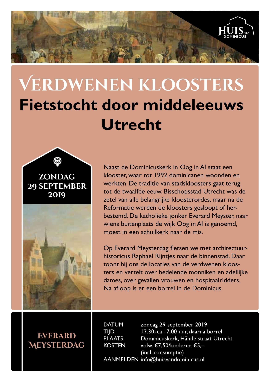 Verdwenen kloosters EMdag 2019