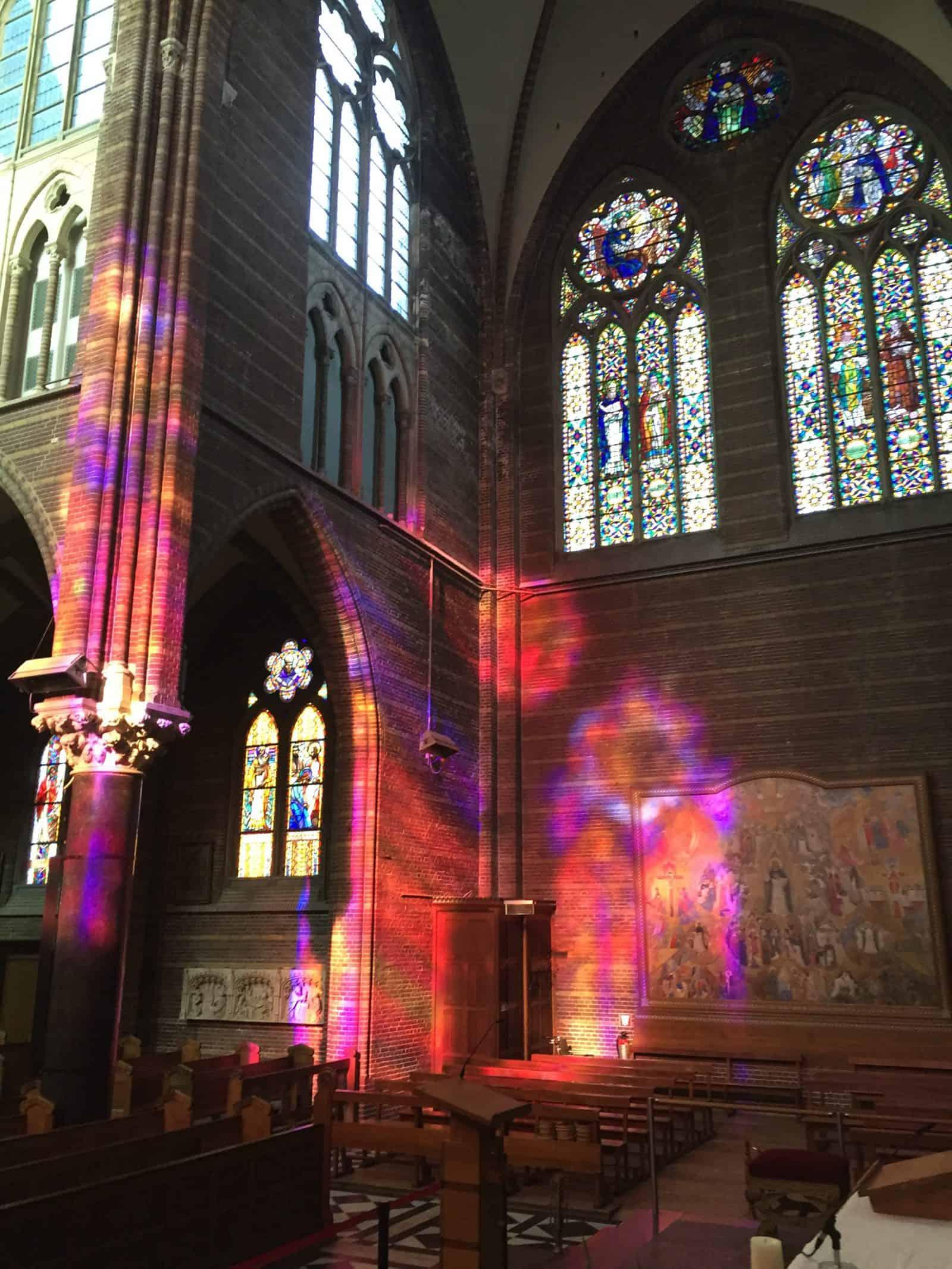kerk zwolle raam licht