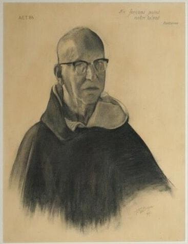 Raymond van Bergen zelfportret