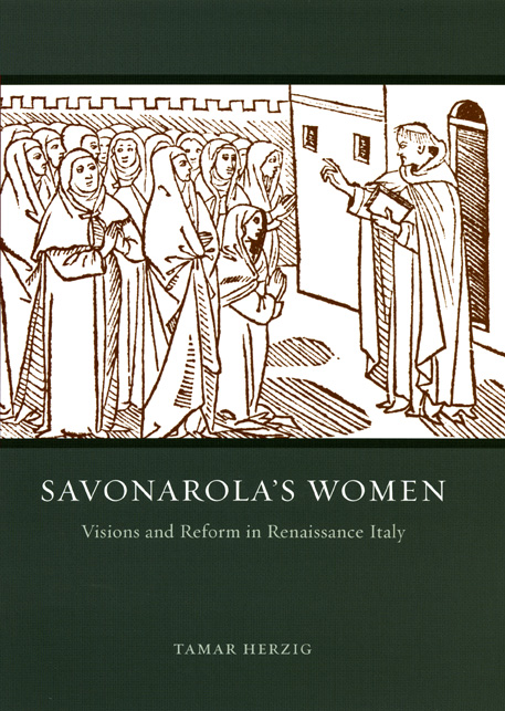 Savonarola preekt tot vrouwen