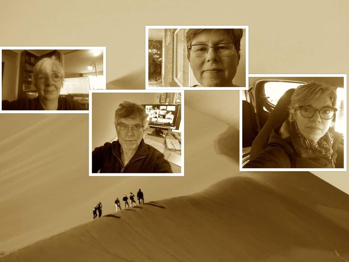 collage week 1 adem in de woestijn
