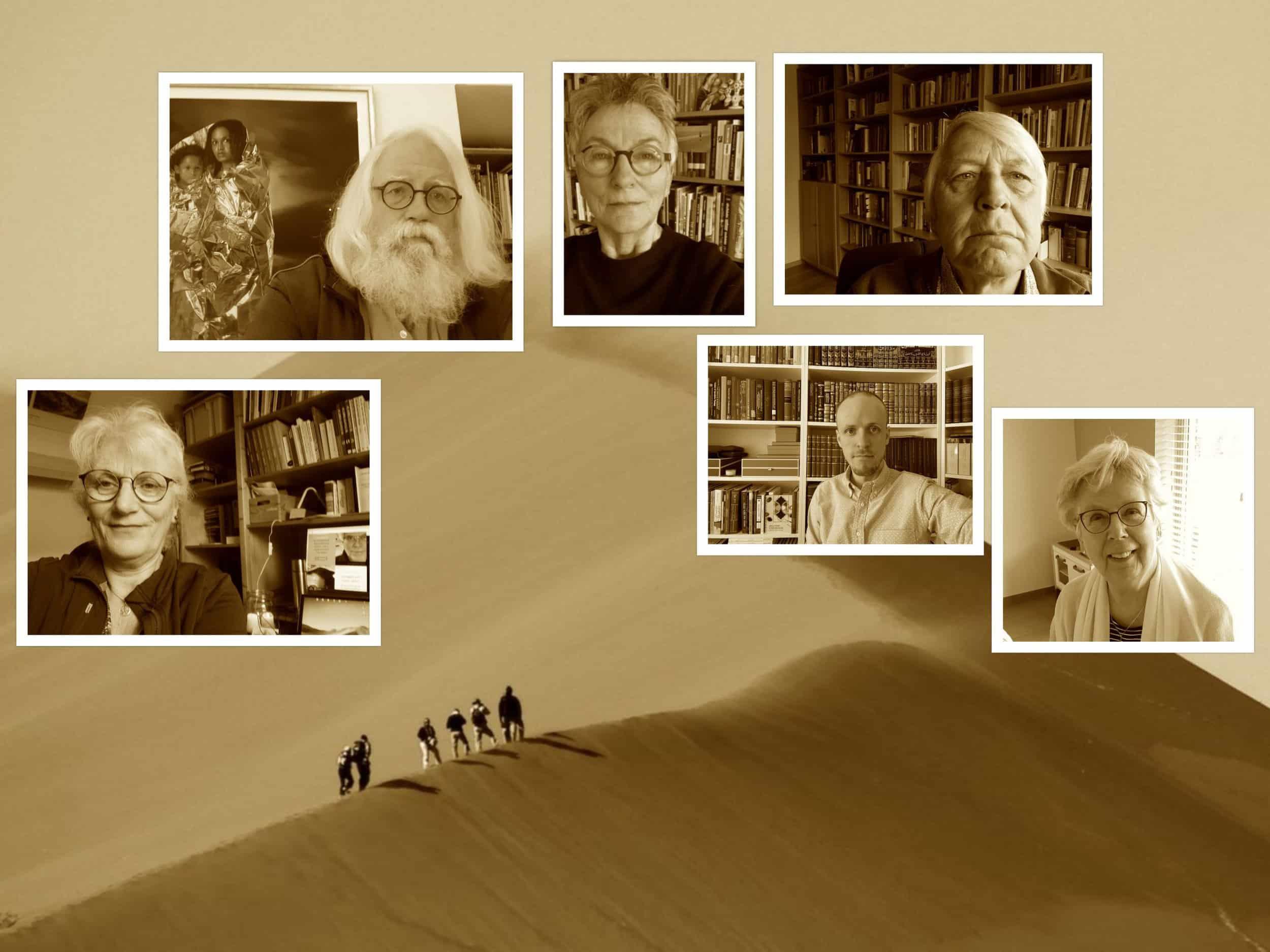 collage week 4 adem in de woestijn