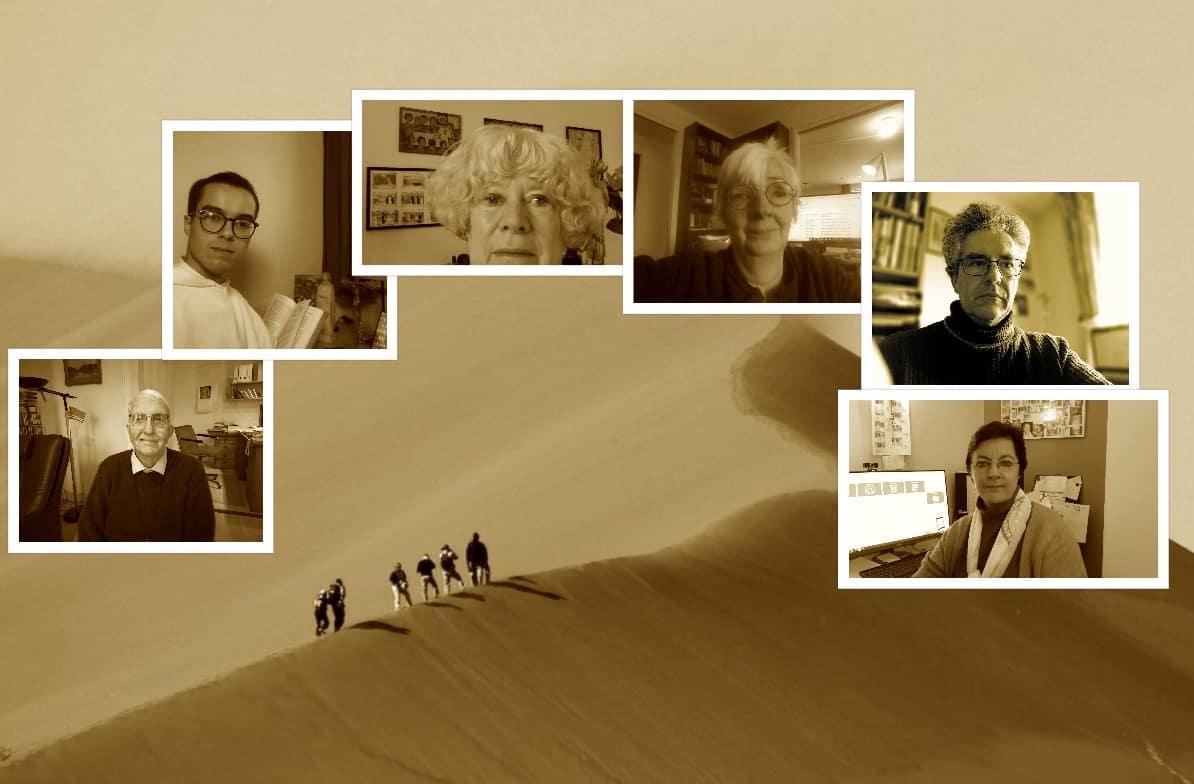 collage week 5 adem in de woestijn