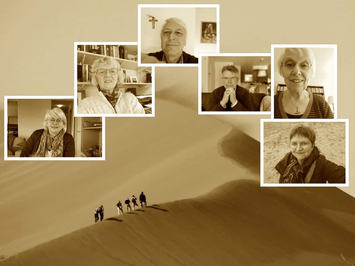 collage week 6 adem in de woestijn