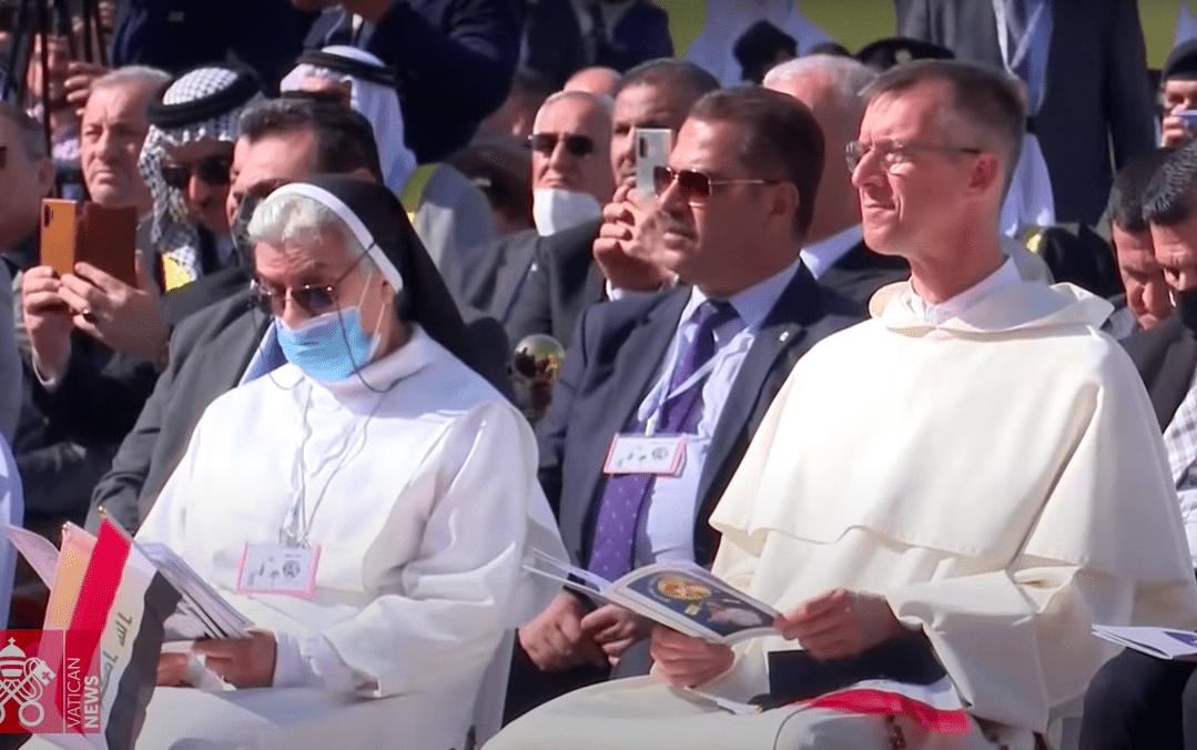 dominicanen pausbezoek irak still