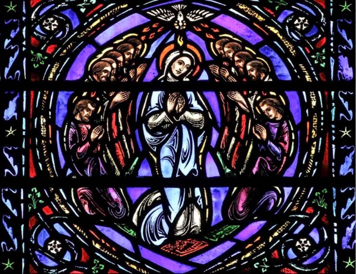raam pinksteren maria