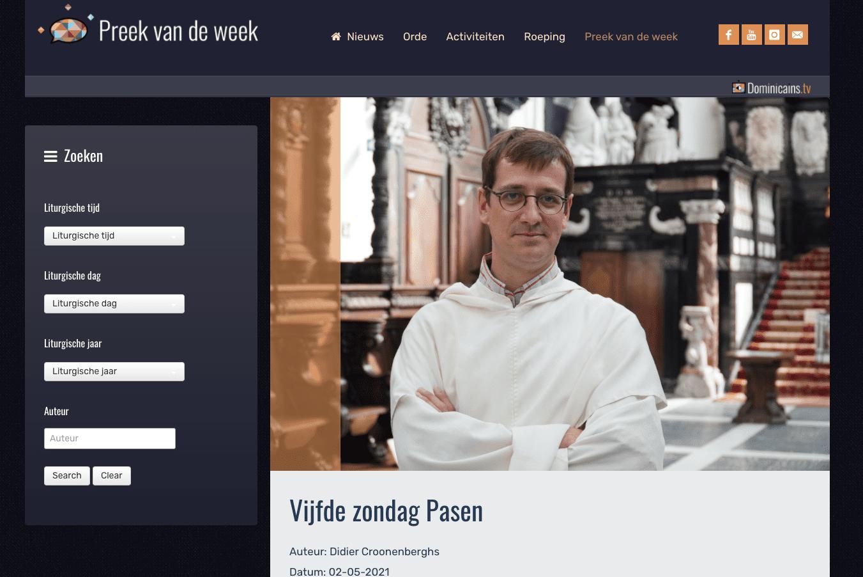 Preek van de Week belgie