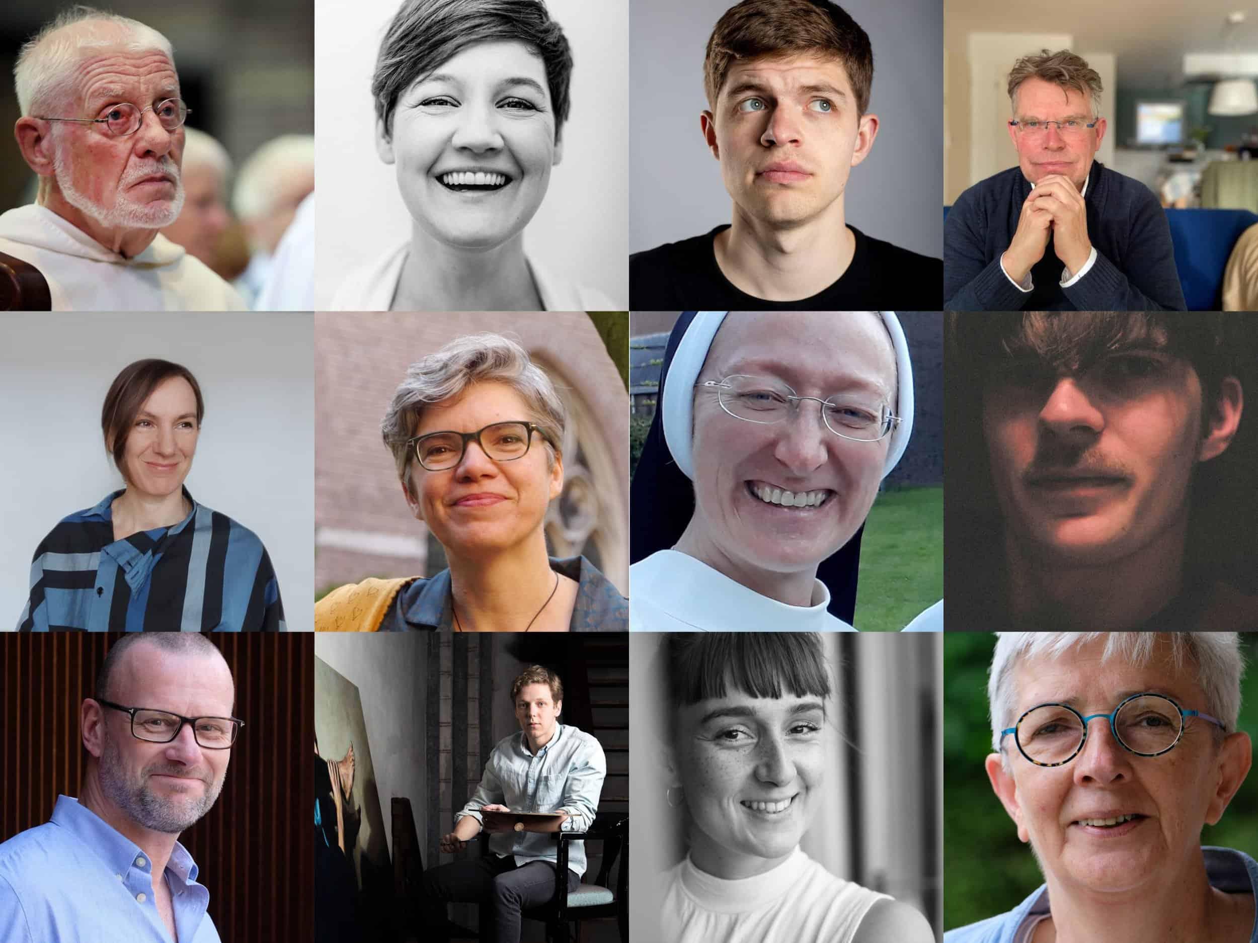 collage deelnemers Leven in Overvloed