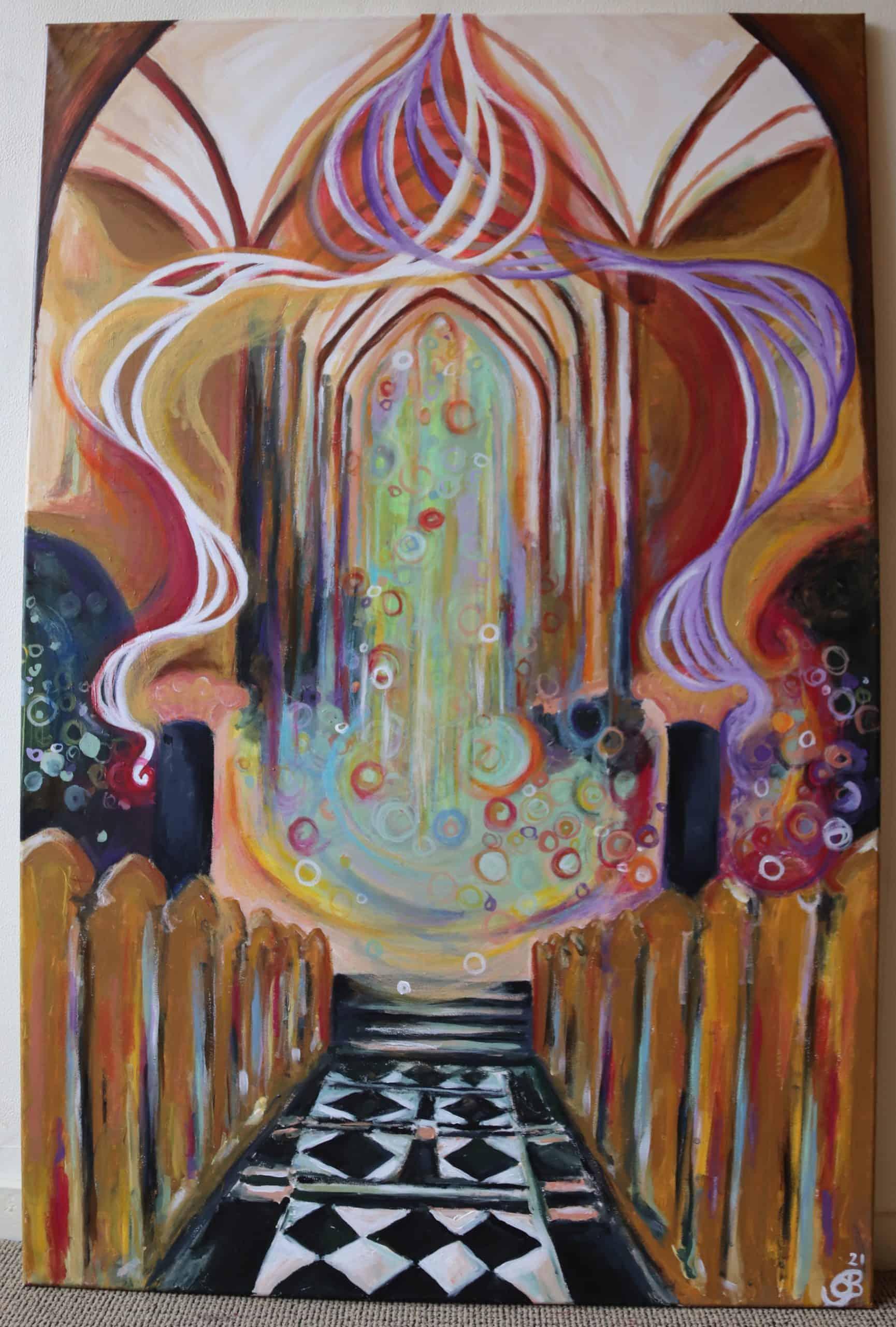 sieneke spiegel schilderij zwolle